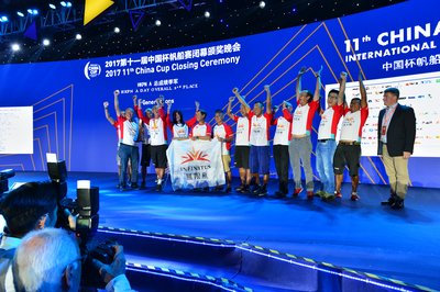 The Generations Sponsored by Infinitus Wins Third Place of Its Division in China Cup International Regatta 2017