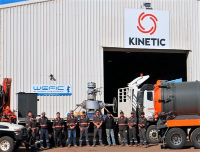 WEFIC and KINETIC jointly announce the launch of a service facility