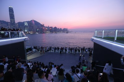 "Hong Kong's Newest Tourist Attraction -- ""Ocean Terminal Deck"" is Open to the Public"