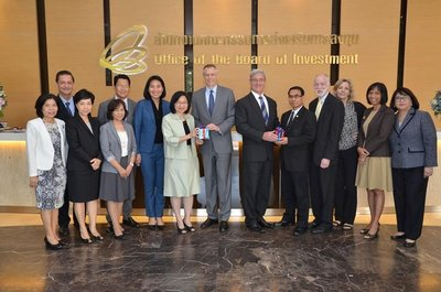 Thailand Board of Investment's Secretary General welcomed President of AMCHAM