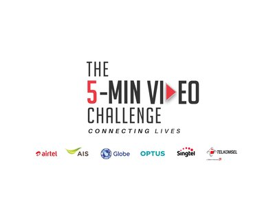 Regional Leg of Singtel Group's The 5-Min Video Challenge Now On