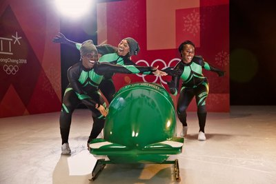 Visa Welcomes the Nigerian Women's Bobsled Team to Team Visa for the Olympic Winter Games PyeongChang 2018