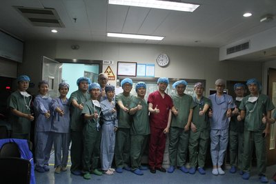 China successfully completes the country's first human implantation of a retrievable transcatheter aortic valve