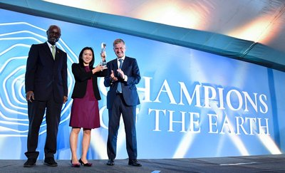Mobike Receives 2017 Champions of the Earth Award from United Nations for Contribution to Low Carbon Transport
