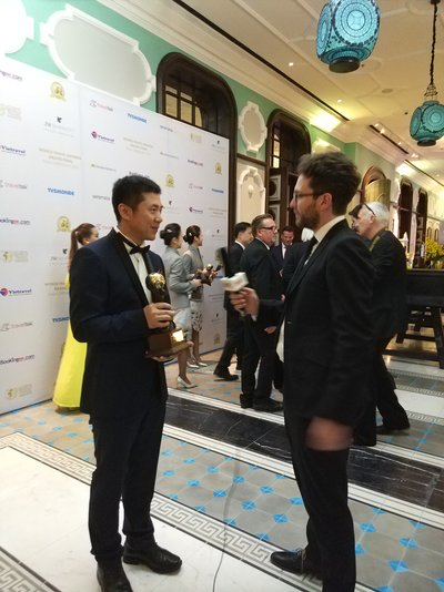 Xu Lidong, President of Deer Jet accepted an official interview following the 24th World Travel Awards Grand Final