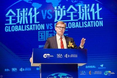 """香港大学SPACE学院:东西结合,应对""""逆全球化"""""""