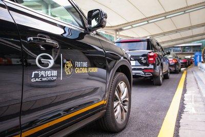 GAC MotorがGA8 セダン、GS8 SUV、GM8 MPVなど計380台を提供