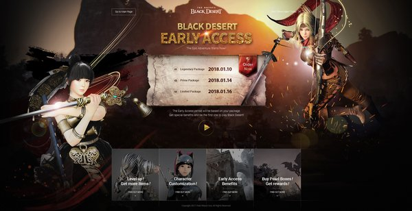 Be a Pioneer in Black Desert Online - Early Access Starts Today in Southeast Asia!