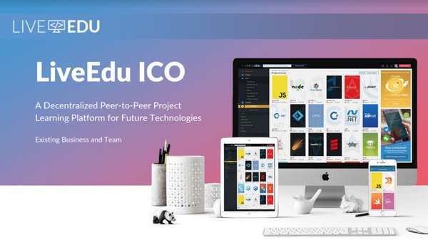LiveEdu, a decentralized professional development ecosystem that teaches people how to build complete products will sell its EDU token to the public on Jan 15, 2018.
