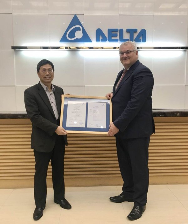 TUV Rheinland Awards Delta First Medical-Grade High-Voltage X-Ray Power Generator Certificate in Taiwan