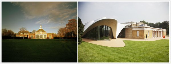 Serpentine Galleries has championed new ideas in contemporary art since it opened in 1970. It has presented pioneering exhibitions of work from emerging practitioners to the most internationally recognised artists and architects of our time. (Photo credit: Serpentine Gallery Photograph 2017 John Offenbach; Serpentine Sackler Gallery Photograph 2017 John Offenbach)