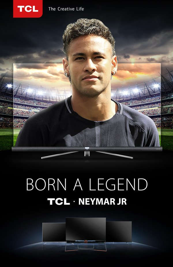 TCL Appoints Football Superstar Neymar Jr. Global Brand Ambassador