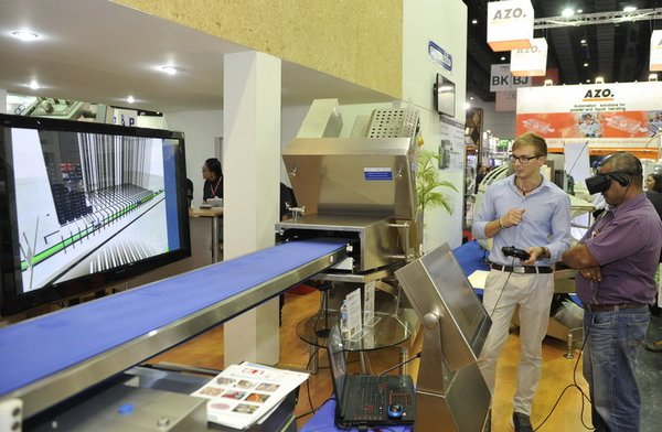 Innovative Conveyor Machine Display at ProPak Asia Thailand