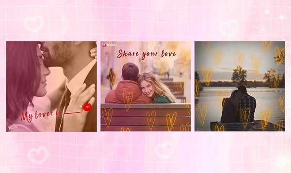 Meitu's exclusive edition of filters for global users on Valentine's Day