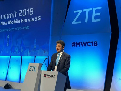 ZTE Hosts 5G Summit 2018