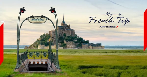 Win an authentic French experience with Air France and