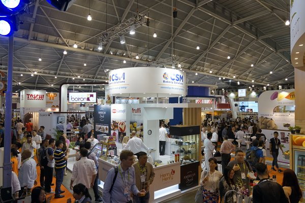 Busy exhibition grounds at FHA2016