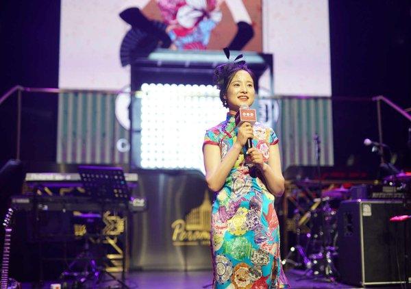 龚康康 | 博闻中国(杭州)总经理在2017中国授权业大奖(China Licensing Awards)颁奖典礼现场