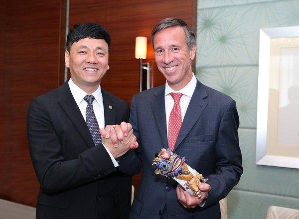 东呈国际集团与万豪国际集团达成战略合作,联手在中国引进万枫酒店品牌