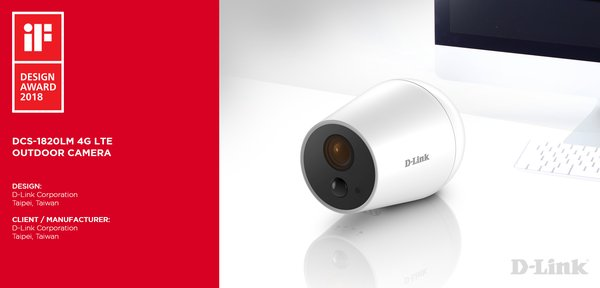 DCS-1820LM 4G LTE Outdoor Camera