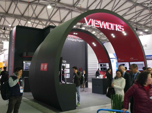 Vieworks at Vision China