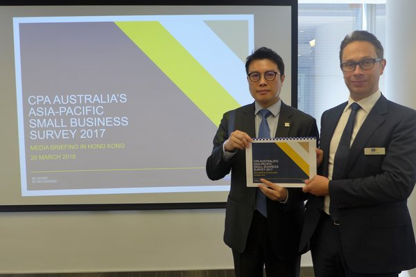 CPA Australia Survey: Hong Kong's small businesses are becoming more tech savvy and experiencing positive business conditions