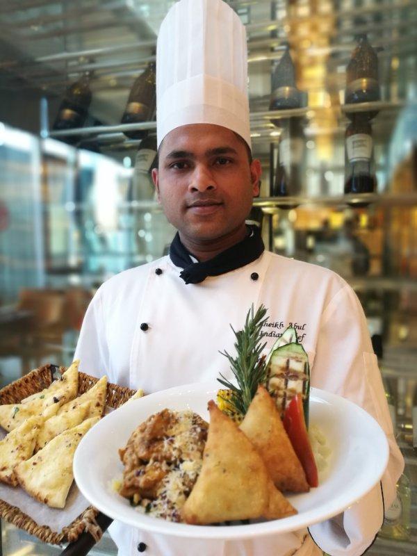 重庆江北希尔顿逸林酒店印度美食节开幕