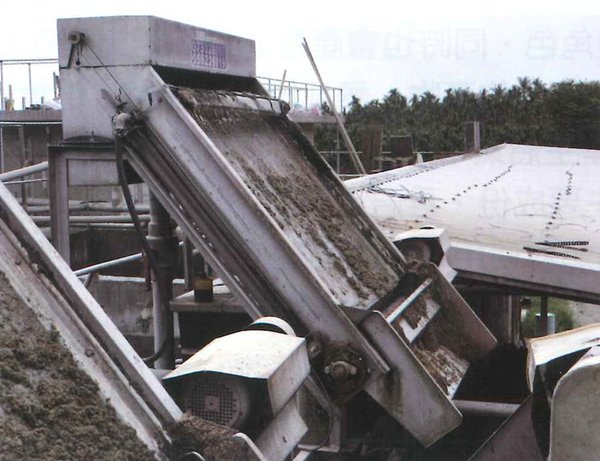 Solids-Liquid Screw Press Separator (picture provided by Industrial Technology Research Institute)