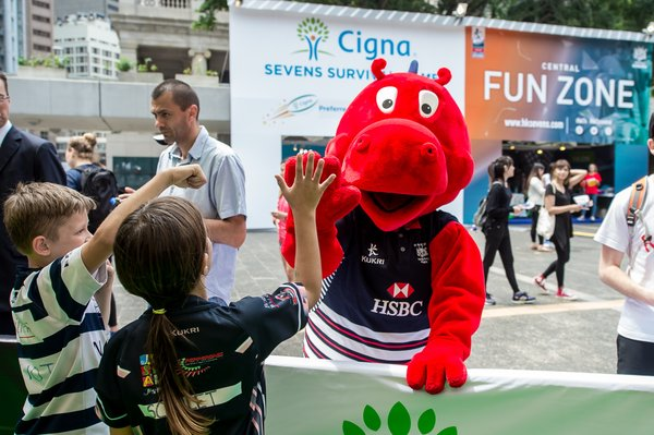 Cathay Pacific HSBC Hong Kong Sevens Festival at Lee Gardens
