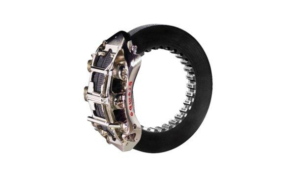 布雷博Formula 1刹车套件-六活塞单体卡钳和碳陶瓷制动盘