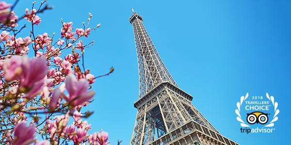 "Paris has been awarded winner ""Best Destination 2018"" in the TripAdvisor Traveler's Choice Awards"