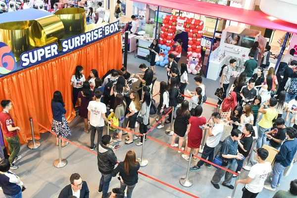 Lazada Goes to the Mall with a Pop-Up Celebration at Plaza