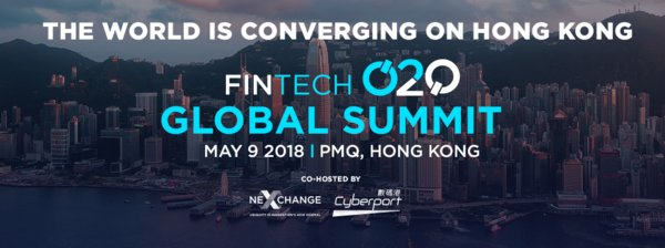 The Fintech O2O Global Summit will take place in Hong Kong on May 9, 2018. Find out more about this major fintech event at www.fintechO2O.com