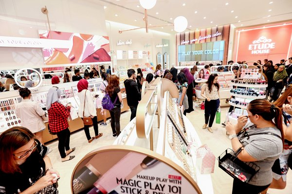 ETUDE HOUSE Grand Openong in Dubai