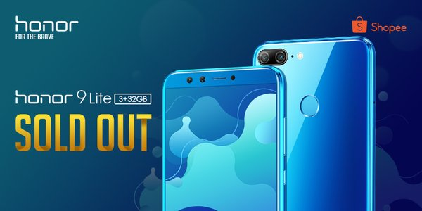 The Honor 9 Lite were sold out in 30 minutes
