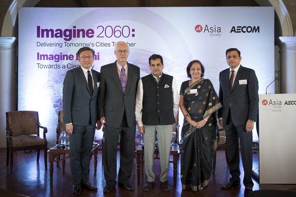 AECOMとアジア・ソサエティがImagine 2060: Delivering Tomorrow's Cities Together始動