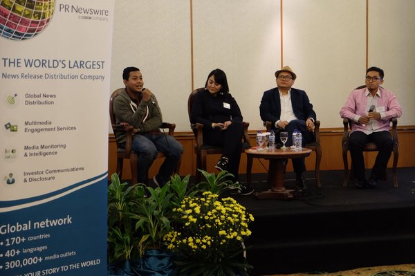 PR Newswire Media Coffee, Jakarta, Mengulas Topik Multimedia Storytelling