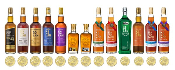 Kavalan wins 'Best in Class' and 9 'Double Golds' in San Francisco