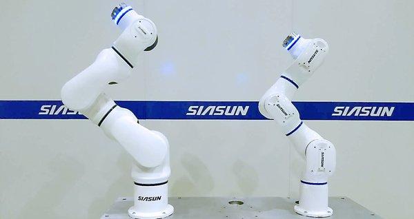 新鬆七軸柔性協作機器人