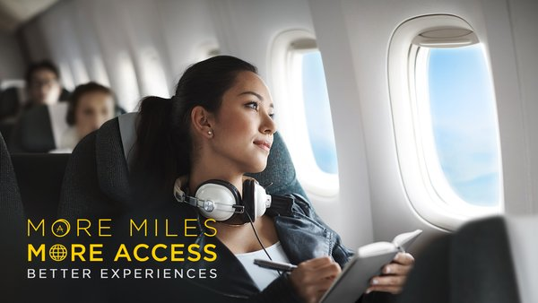 More miles, more access, better experiences