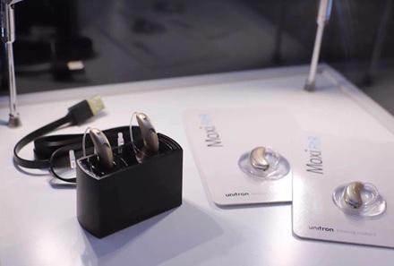 优利康推出可充电式助听器 迷你星七星
