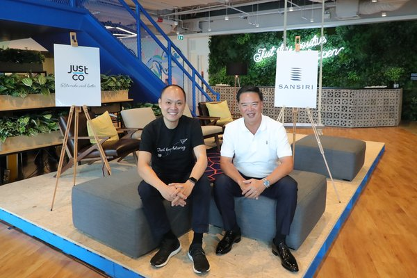 JustCo and Sansiri celebrate the grand opening of the largest co-working space in Thailand