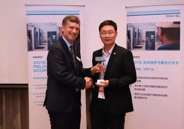 GCL-SI Again Named Top Module Manufacturer by DNV GL and Receives Accreditation of PV Product Testing Center from TUV Nord