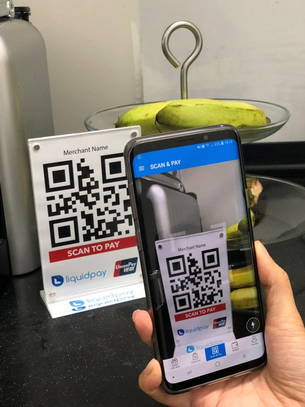 UnionPay and LiquidPay tie-up to expand QR code payment acceptance in Singapore