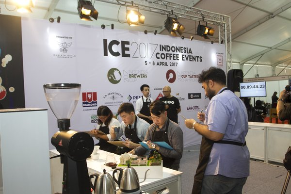 Indonesia Coffee Events (ICE) di Hotelex Indonesia 2018