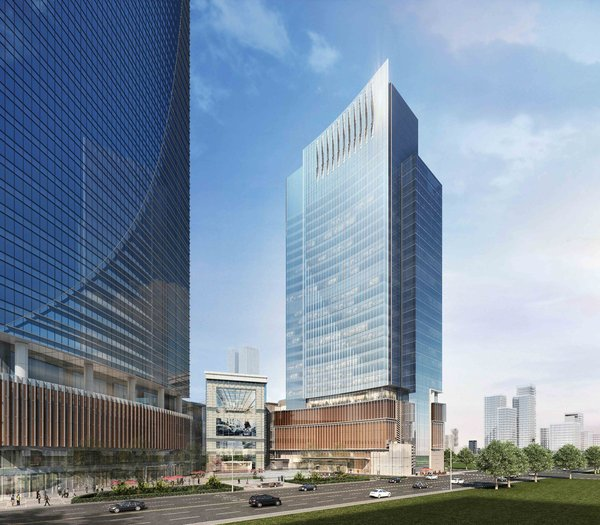 Construction of Center 66's Office Tower 2 is progressing as planned with completion expected in the second quarter of 2019.