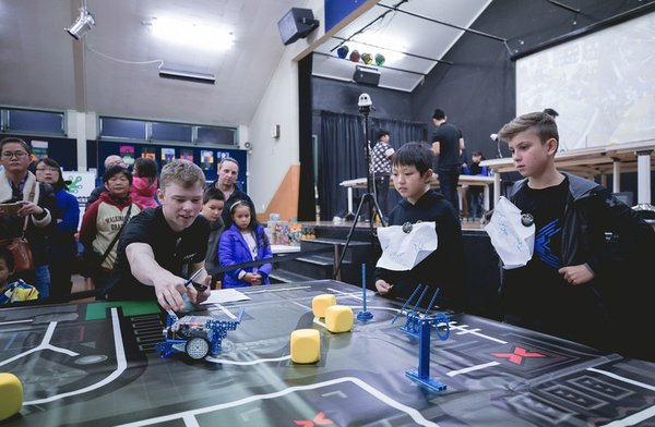 2018 MakeX Robotics Competition Season Hosted Successfully in New Zealand