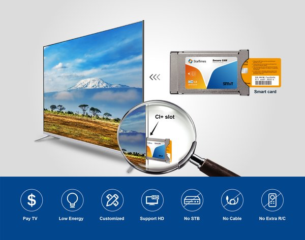StarTimes & SMIT Jointly Launching CI Plus 1.3 CAM with Operator Profile In Africa