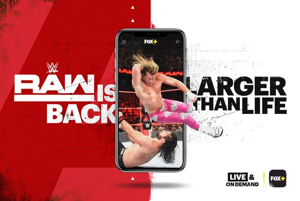 RAW(R) to stream Live in the Philippines exclusively on FOX+