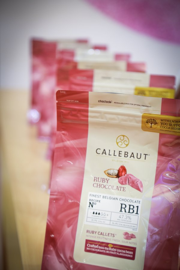 Callebaut launches RB1, the first ruby chocolate for chocolatiers and pastry chefs, in Hong Kong
